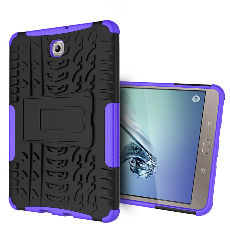 Case For Samsung Galaxy Tab S2 8.0 T710 T715 T719 Tablet Protectiv Cover TPU+PC Rugged Armor Cases Tab S2 8