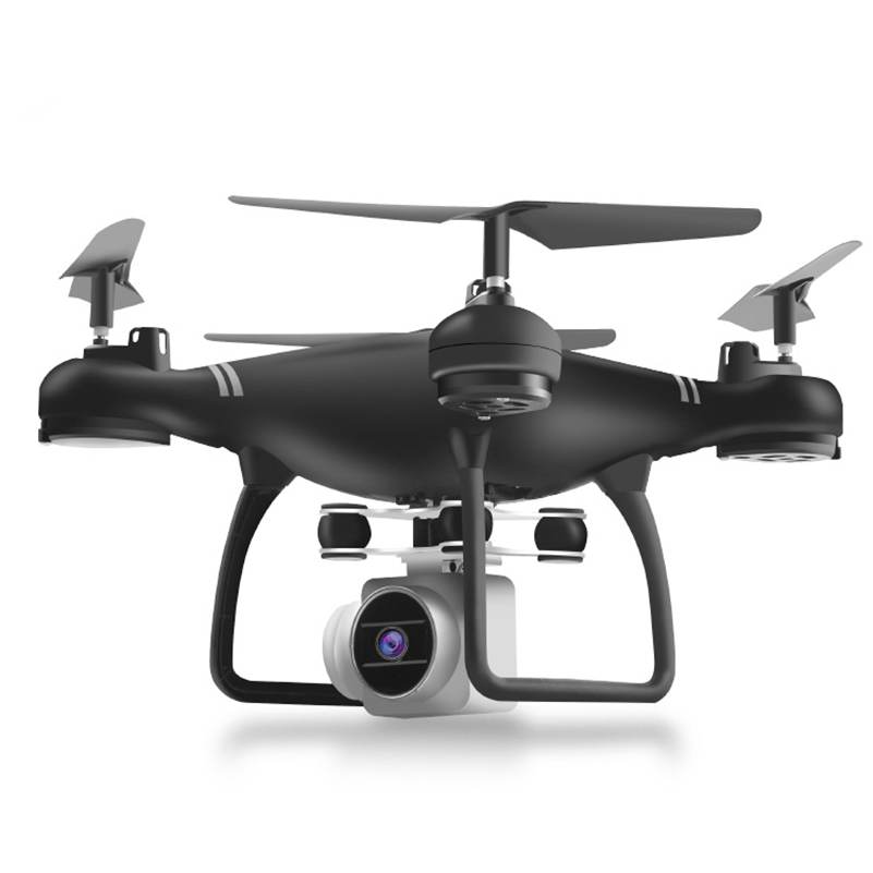 Newly Drone <font><b>HJ14W</b></font> Rc Wifi Real Time Fvp Helicopter With Shock Absorption Gimbal Drones Remote With Wifi FPV 2MP Camera image