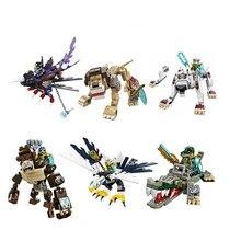 Qigong legendary animal editon 2 CHIMAED Super Heroes font b Figure b font Building Blocks Bricks