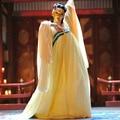 Trajes desgaste de la danza popular chino de la dinastía tang wu zetian chica ropa de neón de las mujeres hanfu datang imperial dress ancient cosplay
