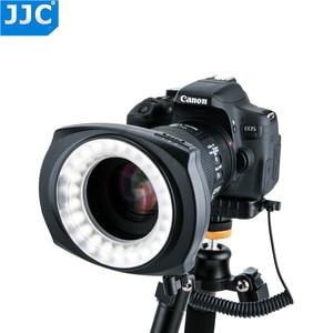 Image 2 - JJC DSLR Camera Flash Video Speedlite Inside/Outside Half/Whole LED Macro Ring Light for NIKON/CANON/SONY/Olymous/Panasonic