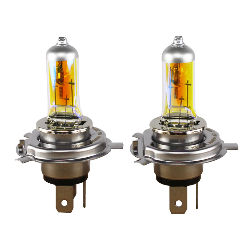 XENCN H4 12V 85/80W P43t 2300K Golden Eyes Super Yellow Light Halogen Car Styling Bulbs Packing Headlights Free Shipping