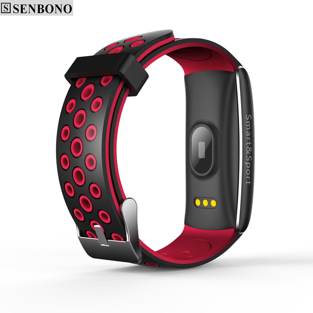 SENBONO Q8 Bluetooth IP68 Waterproof Smartband Heart Rate Monitor