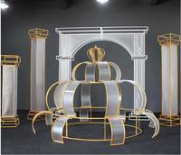 Новые свадебные реквизит гладить книги по искусству фильм римская Арка Свадебные фоновые декорации дорога привести mall красота Чен мебели.