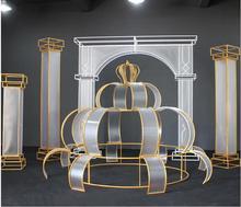 New wedding props iron art film Roman arch wedding background decoration road lead mall beauty Chen furnishings.