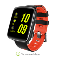 New GV68 Smart Watch Waterproof IP68 Swimming Smartwatch Heart Rate Monitor Message Call Reminder Remote Control