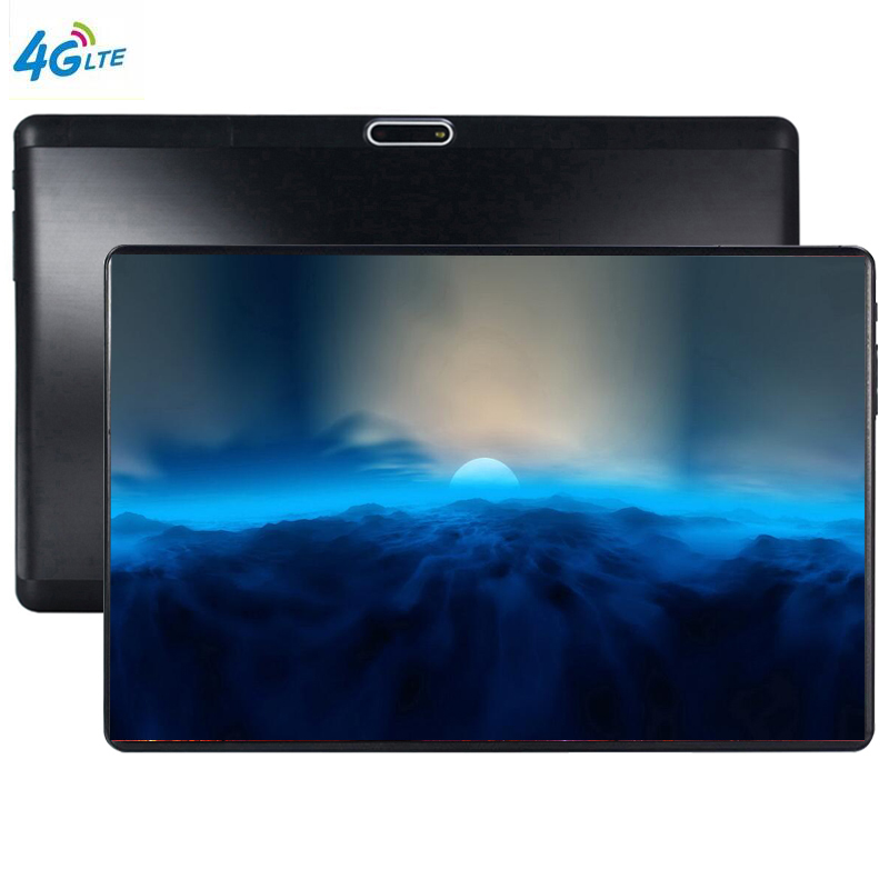 4G LTE Plus Android  10.1 Tablet Screen Mutlti Touch Android 9.0 Octa Core Ram 6GB ROM 64GB Camera 5MP Wifi 10 Inch Tablet Pc