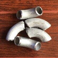 """5 шт. 304 нержавеющая сталь 3/"""" Радиус стыковой сварки локоть 90 градусов угловая труба D20 20 мм"""