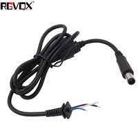 New 7.5x0.7x5.5mm DC Cords 1.2M With Pin Cable Power Adapter Connector Cord For Dell PC Laptop Notebook