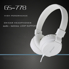 DEEP BASS Headsets Earphones Gaming Headphone 3.5mm Foldable Portable for Phone MP3 MP4 Computer Music High Quality Promotion