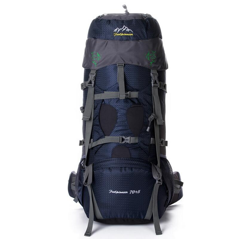 Large Capacity Outdoor mountaineering bag hiking camping 70L backpack Professional Waterproof Rucksack with a carrying system рюкзак городской dakine atlas цвет бирюзовый черный песочный 25 л