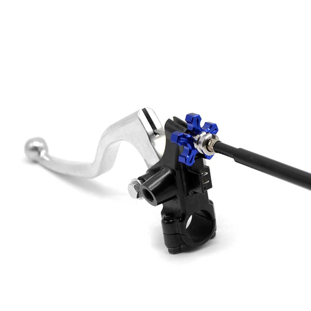 M8 M10 ajusteur de câble d'embrayage de moto pour YAMAHA YZ WR SEROW TTR XT XTZ 80 85 125 250 450 F R X Yz 250 2 t 125 yz Xmax250