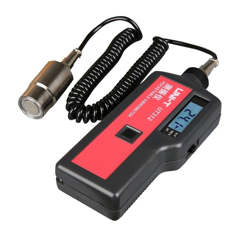 UNI T probadores de vibración portátil UT312 pueden medir el desplazamiento, velocidad, retención de datos, apagado automático - 3