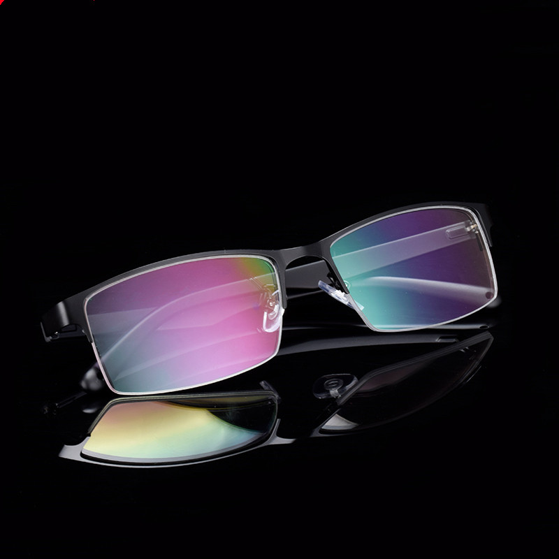 Prescription glasses Sturdy Glasses Men Wide Face Prescription Eyeglasses Optical Frame Myopia Farsighted Progressive multifocal in Men 39 s Prescription Glasses from Apparel Accessories