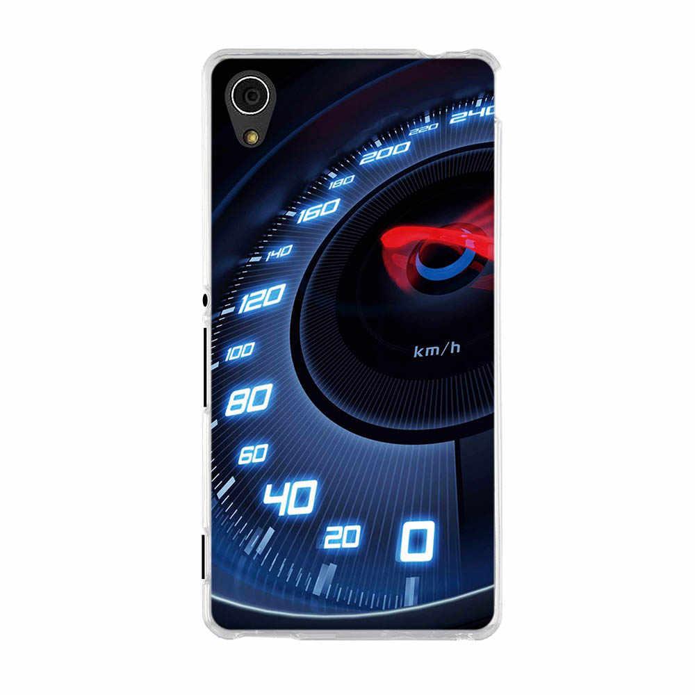 Caso di TPU Per Sony Xperia M4 Aqua E2303 E2333 5.0 pollici Copertura Posteriore Del Telefono Per Sony Xperia M4 Aqua Morbido conchiglie Silicone Fundas Coque