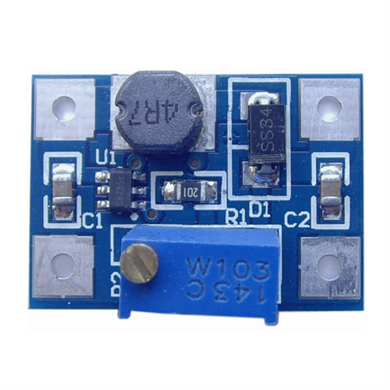High Current 2A DC-DC SX1308 adjustable boost Power Supply module