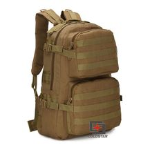 Sand Color Spring Summer New Canvas Hiking Bag Men's Tactical Military Backpack Solid School Bags Women Mountaineering Backpack