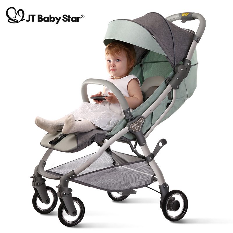 Light Stroller Can Be On The Plane Baby Stroller Summer Ultralight Small Folding Baby Newborn Trolley
