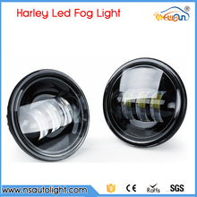 2pcs Included Motorcycle Accessories 12v 24v led front light head light 4.5inch fog lights for harley