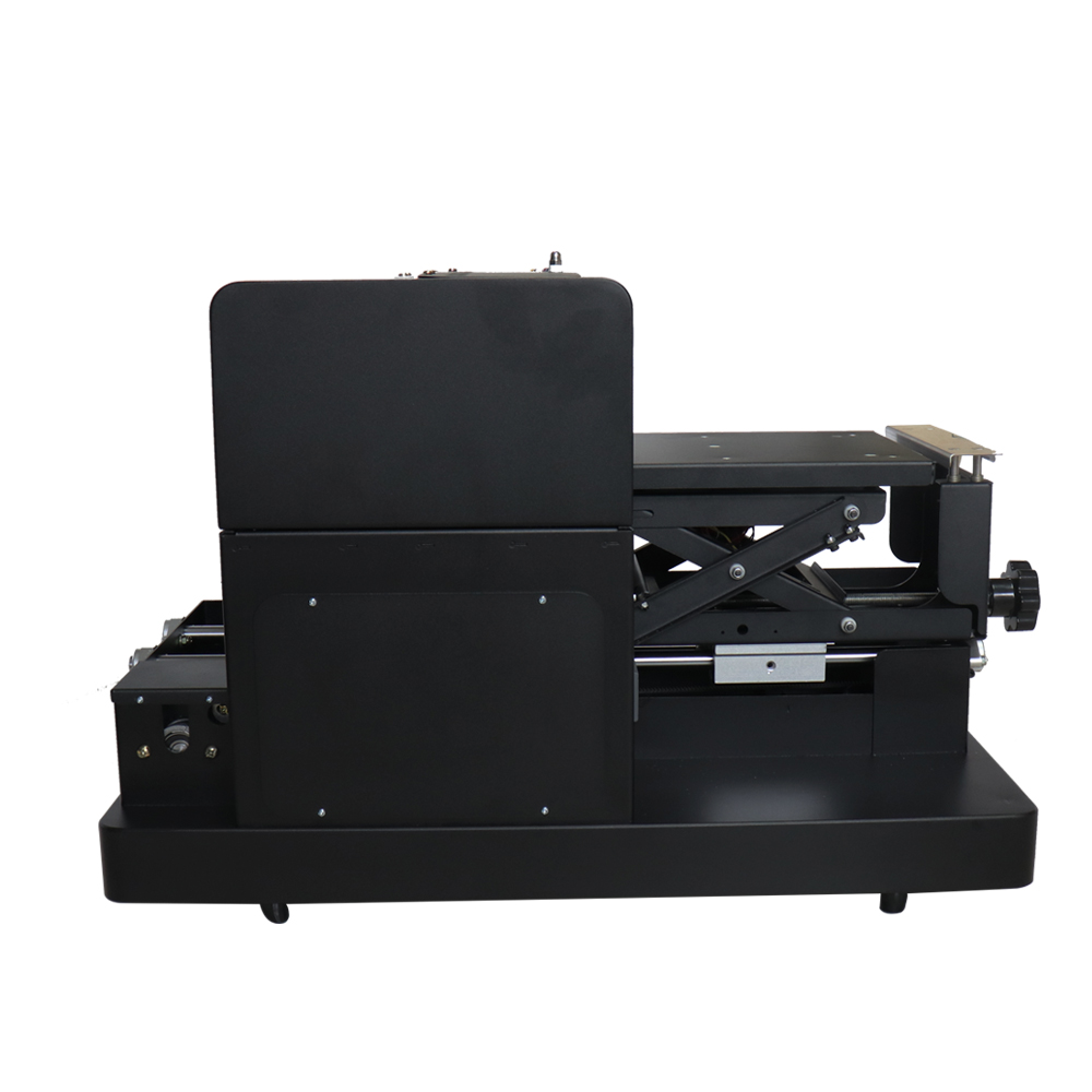Hoge kwaliteit A4 flatbed printer DTG T-shirt printmachine voor EPSON - Office-elektronica - Foto 4