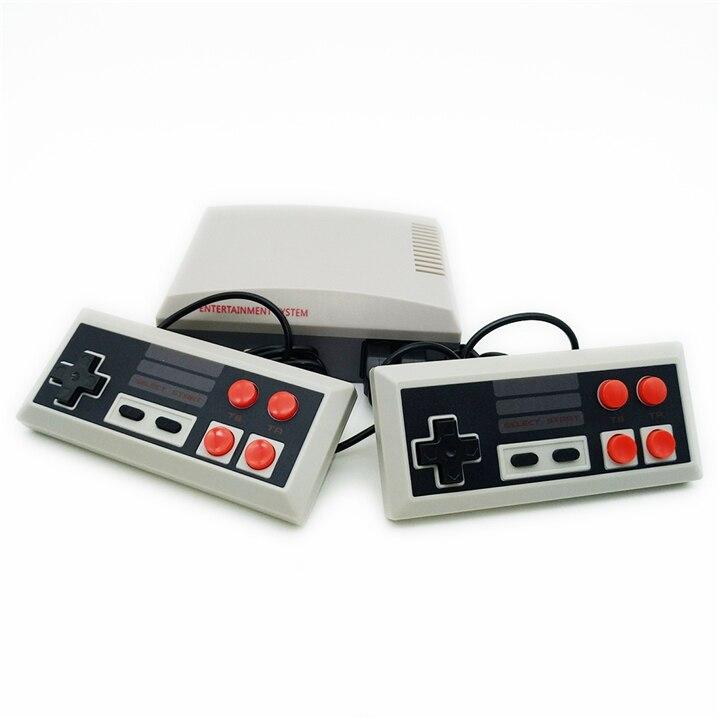 Mini Console de jeu TV 8 bits Console de jeu vidéo rétro intégré 620 jeux lecteur de jeu portable meilleur cadeau