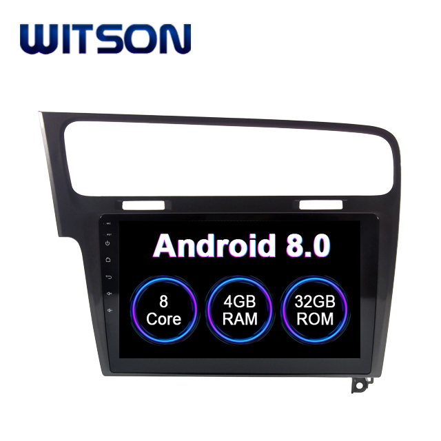 "WITSON Android 8.0 10.2"" CAR DVD WITH GPS For VOLKSWAGEN GOLF 7 (GREY) CAR RADIO NAVIGATION SYSTEM CAR STEREO CAR AUDIO PLAYER"