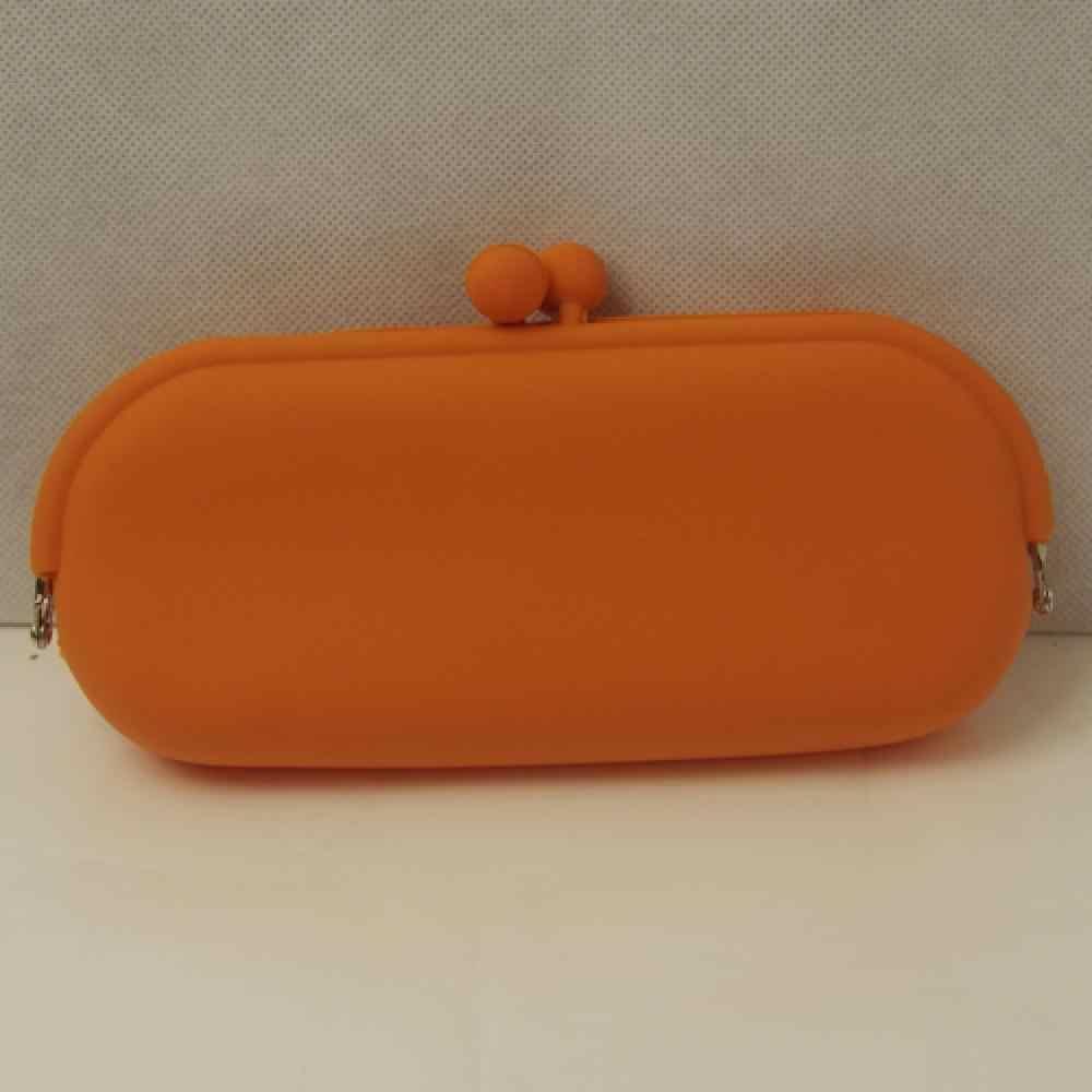 Moda Kadın çantaları Yeni Şeker Renk Kauçuk Silikon Kılıfı Çanta Cüzdan Gözlük Cep Telefonu Kozmetik Para Çanta Kılıf