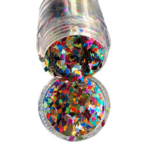 1Box 10ml Glitter Holographic Shining Colorful Rhombus Shape Mixes Nail Sequins Paillette Glitters For DIY Art Decorations