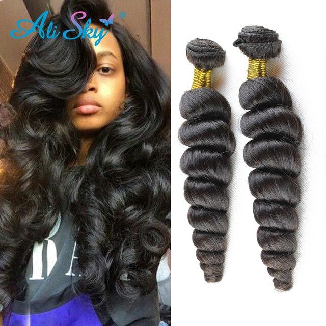 Brazilian Loose Wave Virgin Hair 3pcslot Ali Skyhair Brazilian