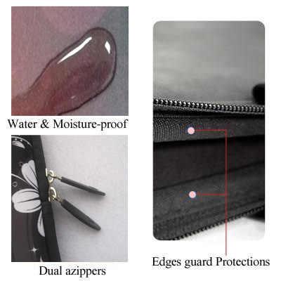 Van Gogh desa lembut Netbook Laptop lengan kasus tas kantong untuk Apple macbook, Udara / Pro Retina 10 13 13.3 15.4 15.6 17.3 17.4 inch
