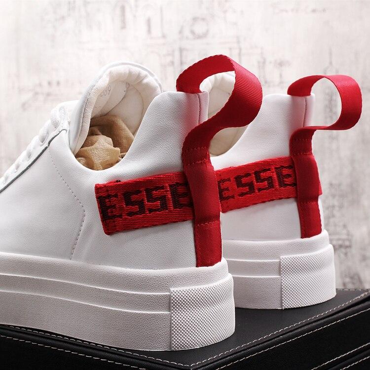 Zapatos Chaussure Cuero Último Skate Hip Blanco 01 Moda 2019 Casuales Homme  Negro Hop Zapatillas De ... 96eb08f4576