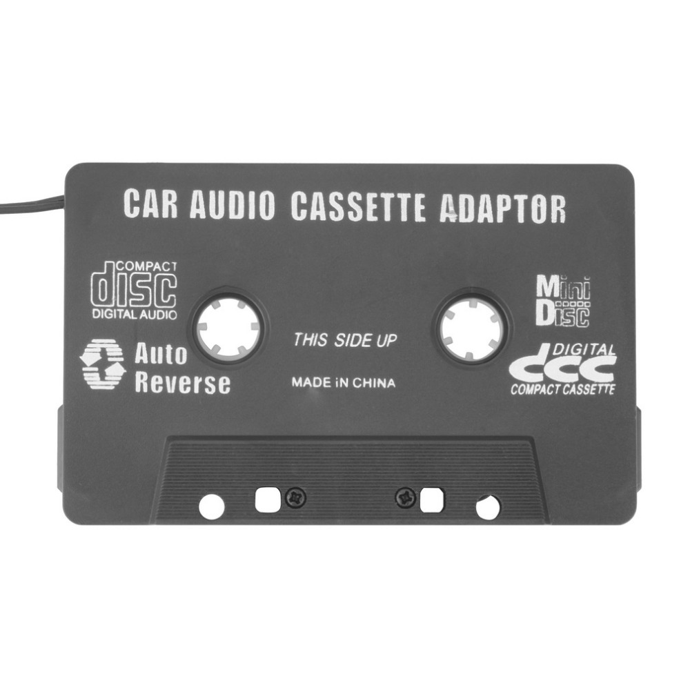 Car Cassette Tape Adapter Converter for MP3 for iPhone 4 4S for iPod Touch for Nano CD MD