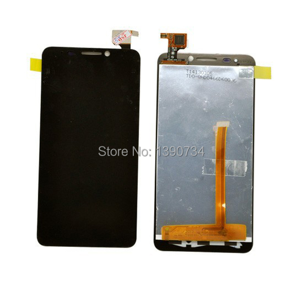 100% New LCD Display Touch Screen Digitizer Assembly For Alcatel One Touch Idol 6030 OT-6030D OT-6030X OT-6030A Free shipping
