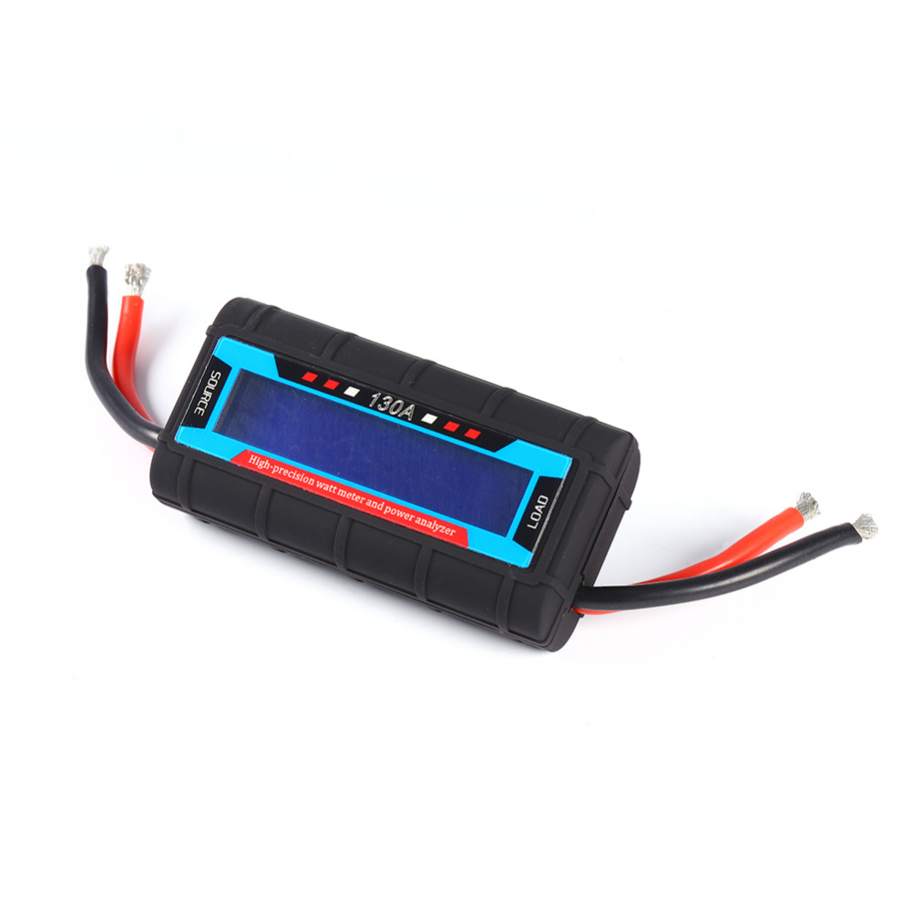 High Precision Lcd Rc 130a Watt Meter Power Analyzer Watts Up Dc Voltage Current Balancer Battery Analyze Balance Ampere 60v In Meters From Tools On Alibaba