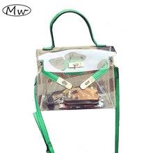 Neue Mode PVC Transparent Klar Platin Paket Zipfel Strand Taschen Kleine Tote-schulter-beutel Crossbody Taschen Für Frauen A751