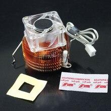 Northbridge Radiator Cooler Pure Copper North Bridge PC Chipset Heatsink Cooling Fan 4020 40mm