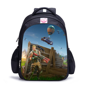 Image 5 - Famous Game battle royale Schoolbag Lovely Character Backpack for Children Cartoon Printing School Bags Kids Mochila Infantil