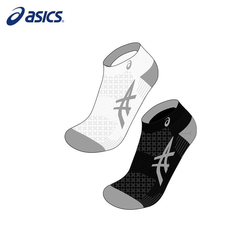Socks ASICS 130888-0001 sports accessories unisex adibo a 13 sports cotton socks for men white 6 pairs