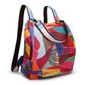 DLKLUO Women Backpacks Leather Shoulder School Bags For Teenagers Girls Backpack Waterproof Travel Bagpack Mochila Feminina D696