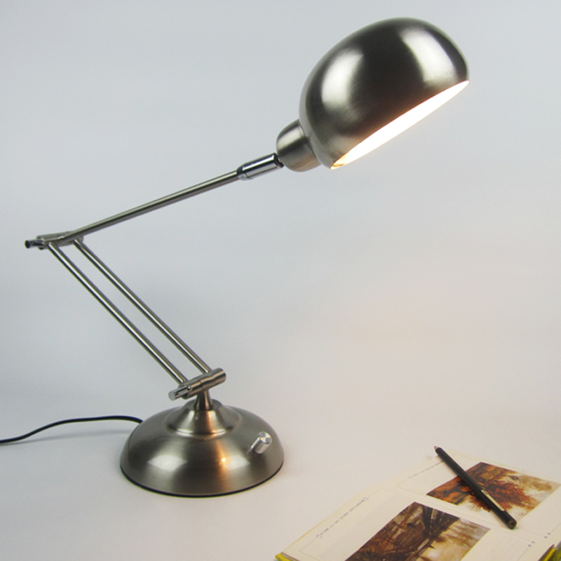 High Quality Metal Folding Table Lamps Modern Desk Lamps LED Eye Protection Reading Lamp E27 3W 5W 220V Home Decoration Lighting xg6001 led dimmable desk lamp 12w eye care touch sensitive daylight folding desk lamps reading lamps bedroom lamp with usb port