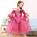 New Baby Girl Cosplay Costume Floral Pattern Stand Collar Flare Sleeve Kid Dress Princess Style Children Ball Gown For Party