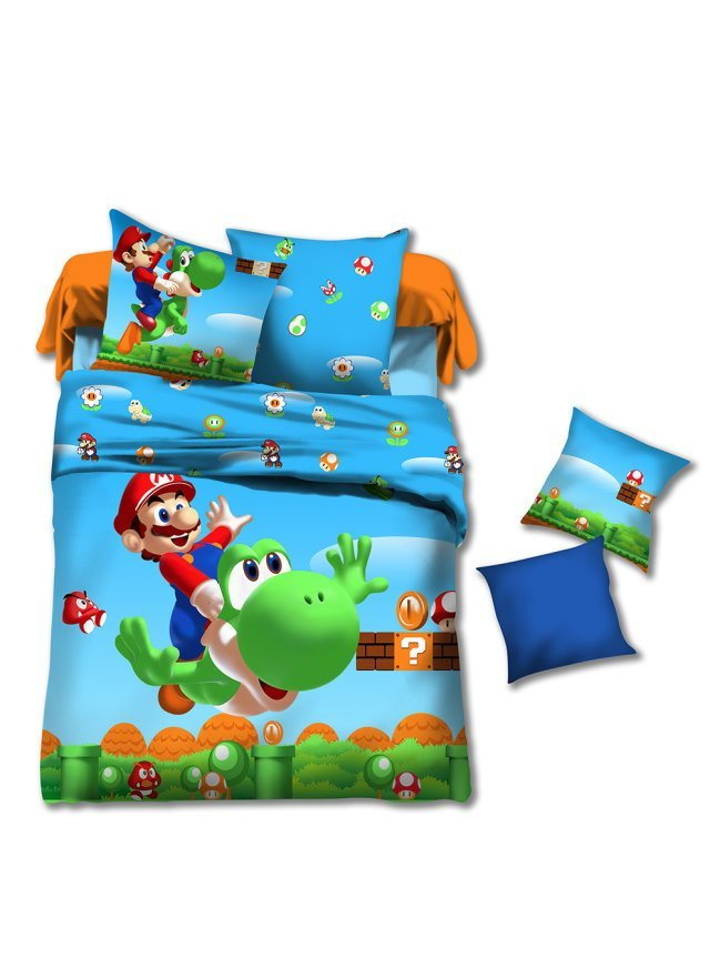 online kaufen gro handel super mario bettw sche aus china super mario bettw sche gro h ndler. Black Bedroom Furniture Sets. Home Design Ideas