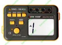 VICTOR VC60E+ Digital Insulation Tester 50M~199.9G Ohm 2500V 5000V Megger MegOhm Resistance Meter