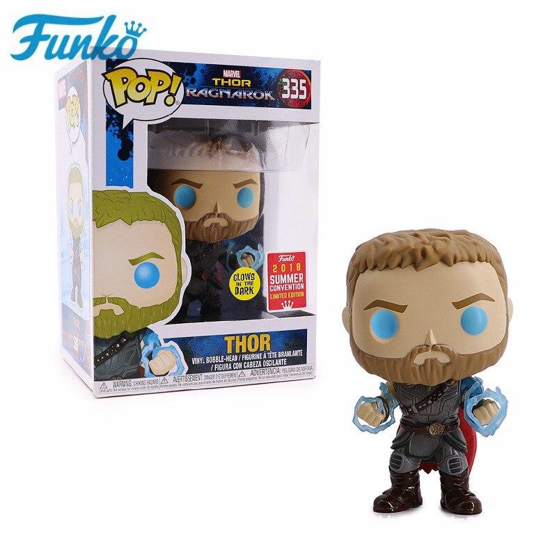 Funko POP Marvel Thor: Ragnarök #335 Limited Edition Action Figure Toys Collection Model Dolls for Children Friend Birthday Gift