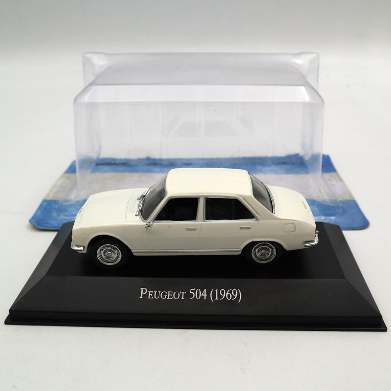 IXO Altaya 1:43 Peugeot 504 1969 Diecast Toys Models Limited Edition Collection