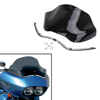 13 Motorcycle Windshield Cover Deep Cut Batwing Trim Kit For Harley Road Glide FLTR Ultra Custom