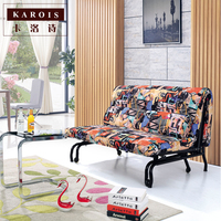 A6078 Creative Lazy Sofa Bed Multi Function Foldable Removable Living Room Double Single Sofa Bed Sillon