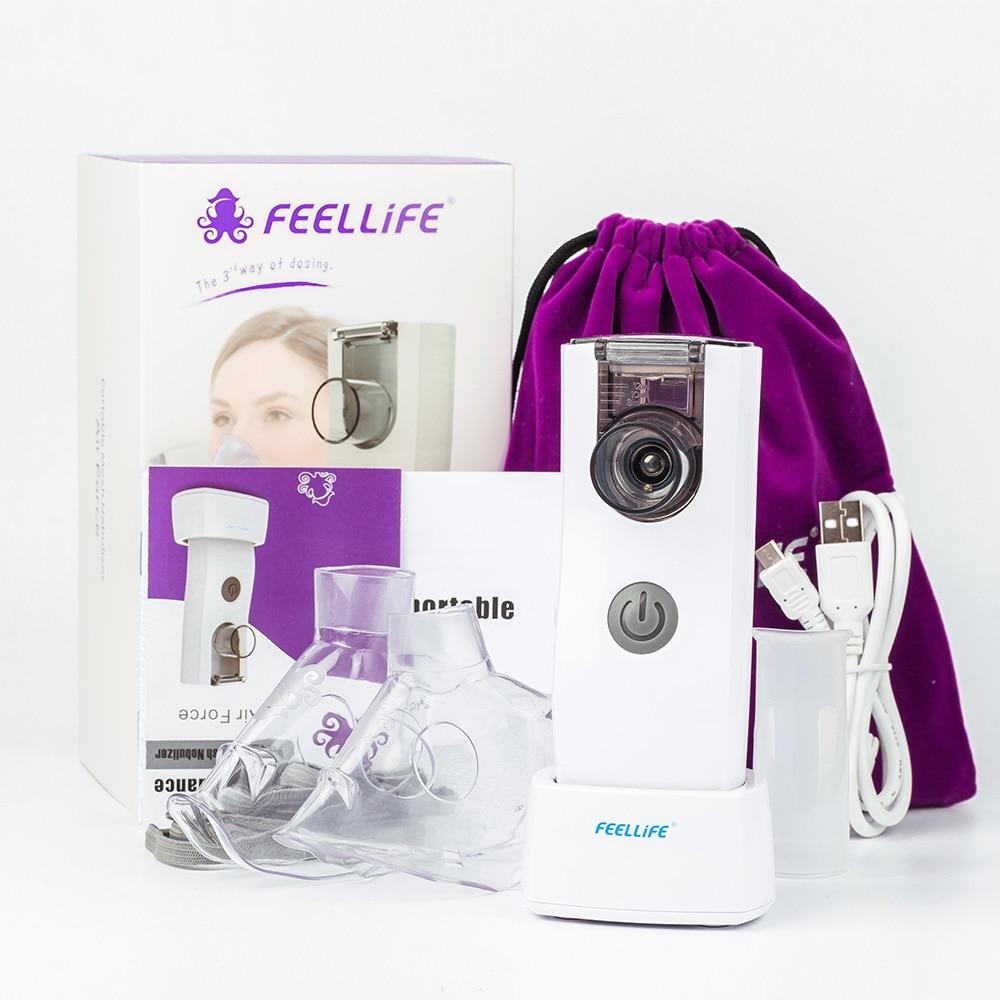 Yongrow Nebulizer Handheld Inalador Nebulizador Asthma Inhaler Atomizer for Children Adult USB Rechargeable Nebulizador Portatil аккумулятор для легкового автомобиля sonnenschein start line so 59050 90 ач об