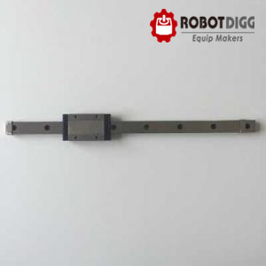 RobotDigg 440C SUS stainless steel MGN15 linear guide rail linear guideway with carriage block