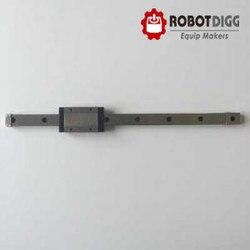 RobotDigg 440C SUS ze stali nierdzewnej MGN15 prowadnica liniowa prowadnica liniowa z przewozu blok